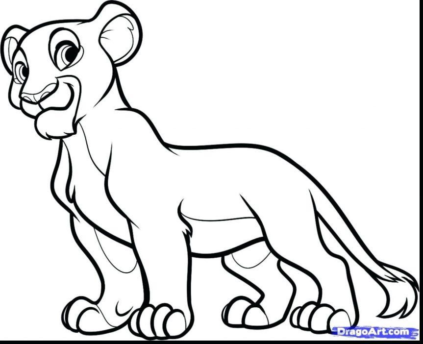 863x702 Villain Coloring Pages Scar Lion King Sheets Printable 2 Kiara