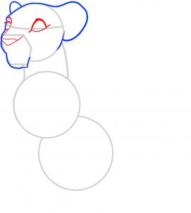 271x302 How To Draw A Lion King Lion, Lion King Lions Step 7 Art