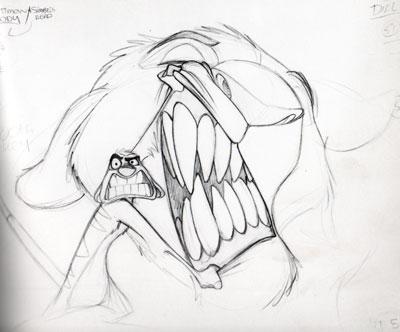 Lion King Pencil Drawing