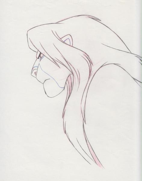 472x600 Lion King Simba Drawing Drawings Lion King Simba