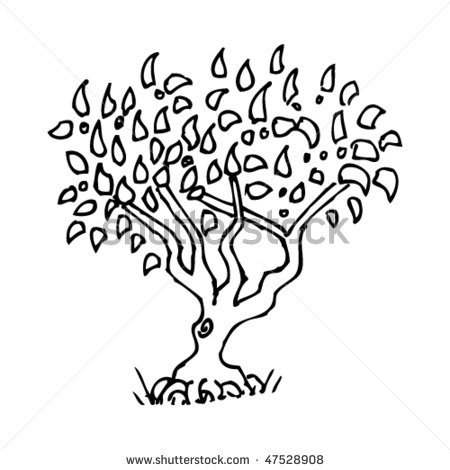 Lion King Tree Drawing