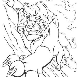 Lion King Tree Drawing at GetDrawingscom Free for personal use