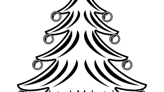 570x320 Christmas Tree Drawing Ideas Best Photos Of Christmas Tree Outline
