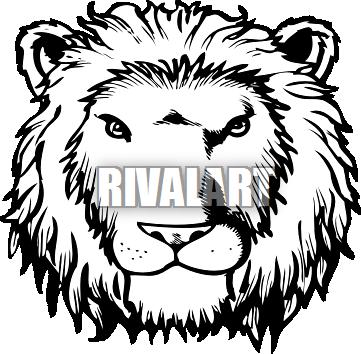 361x354 Lion Mane Clipart