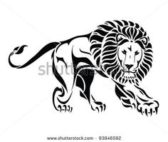 236x199 Lion Head In Black And White Vector Illustration, I Think I Want