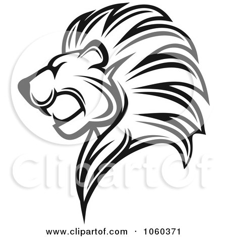 450x470 Royalty Free (Rf) Lions Mane Clipart, Illustrations, Vector