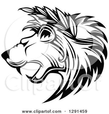 450x470 Royalty Free Vector Clip Art Illustration Of A Black And White