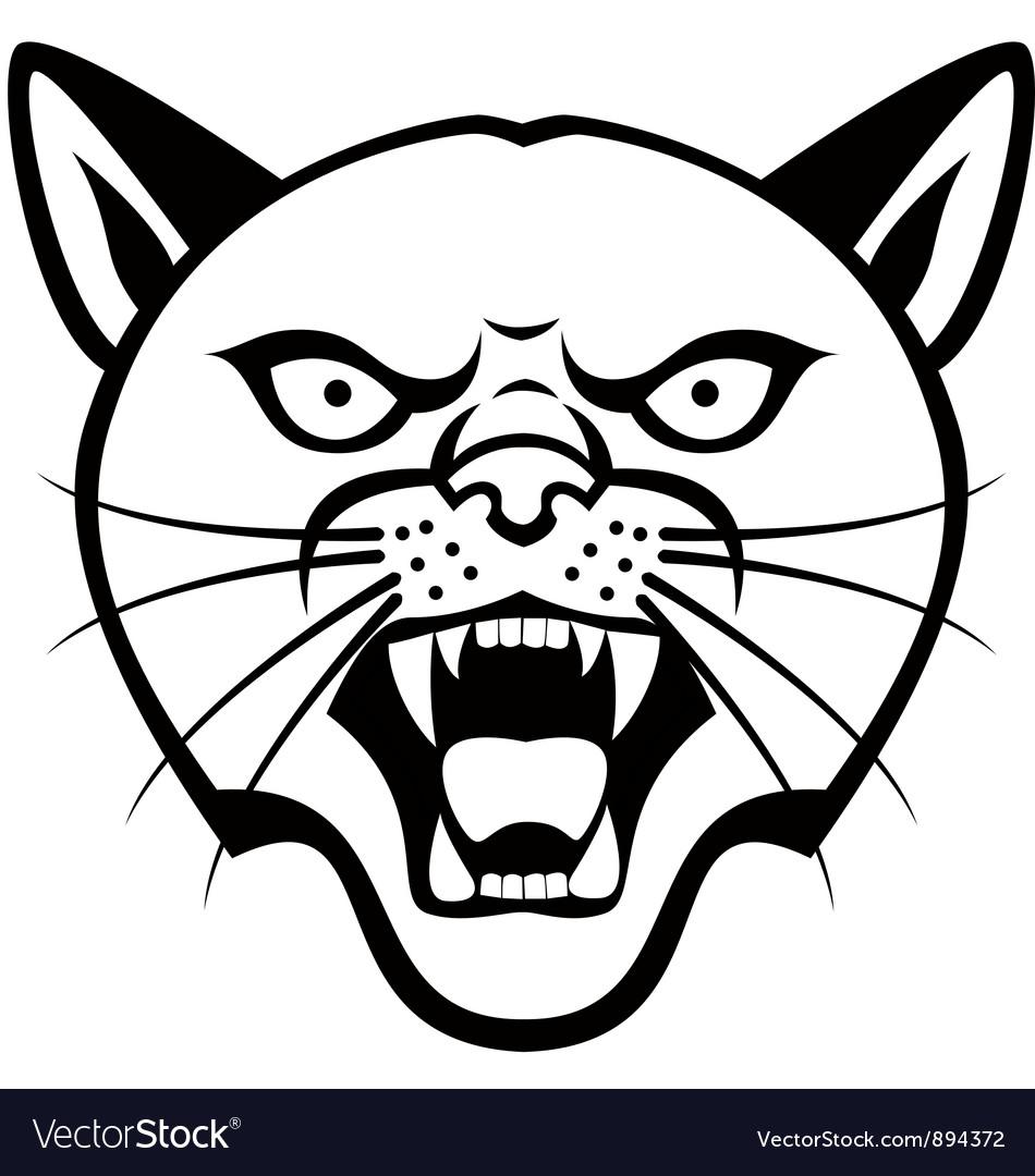 950x1080 Drawn Head Panther 3345578