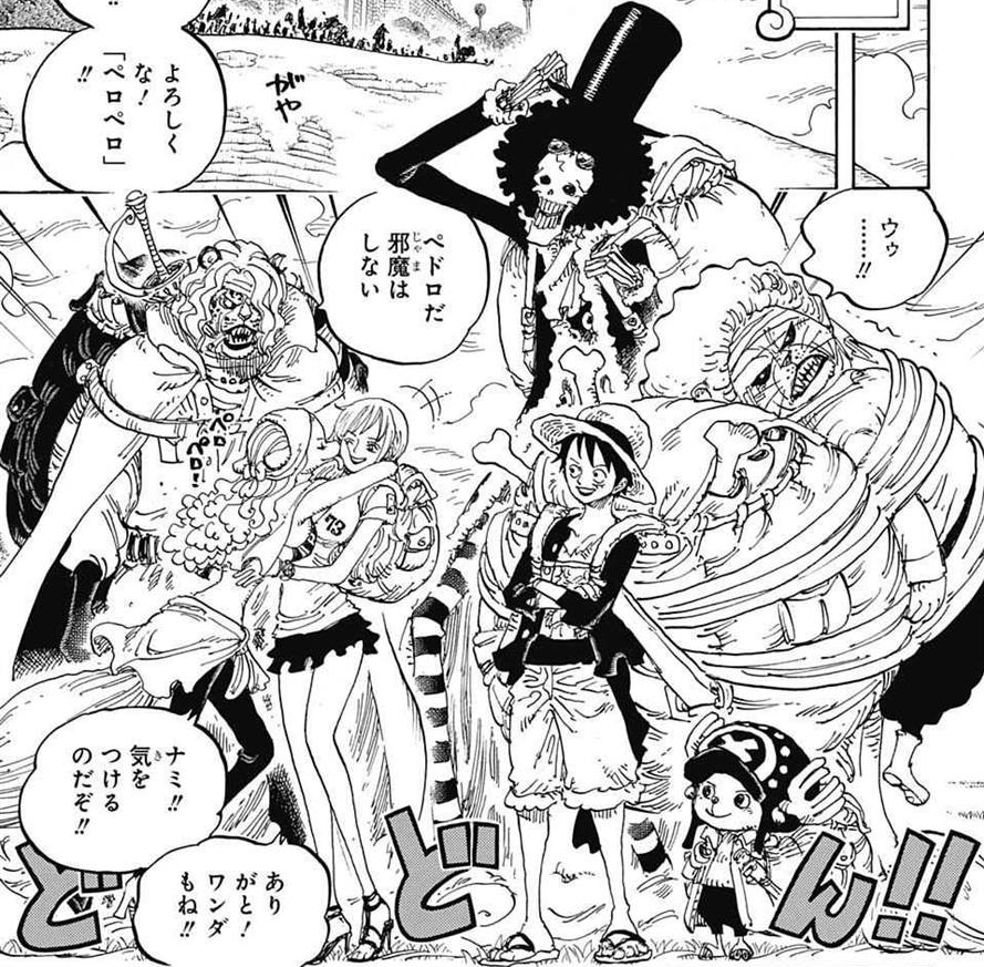 889x873 Pekoms One Piece Wiki Fandom Powered By Wikia