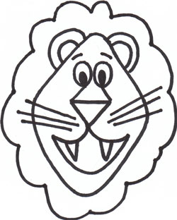 250x312 Drawing Cartoon Animals Lion