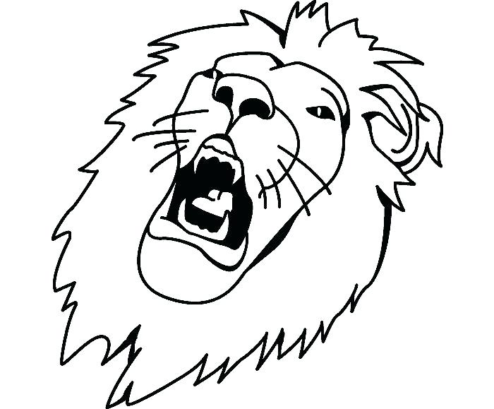 700x579 Tiger Printable Coloring Pages Tiger Template Kids Drawing Tiger