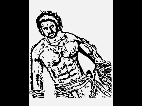 480x360 How To Draw Bahubali 2 Prabha Sketch Pencil Drawing Step By Step