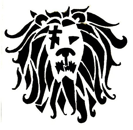 463x450 Seven Deadly Sins 5.5 Tall Lion Sin Of Pride Decal