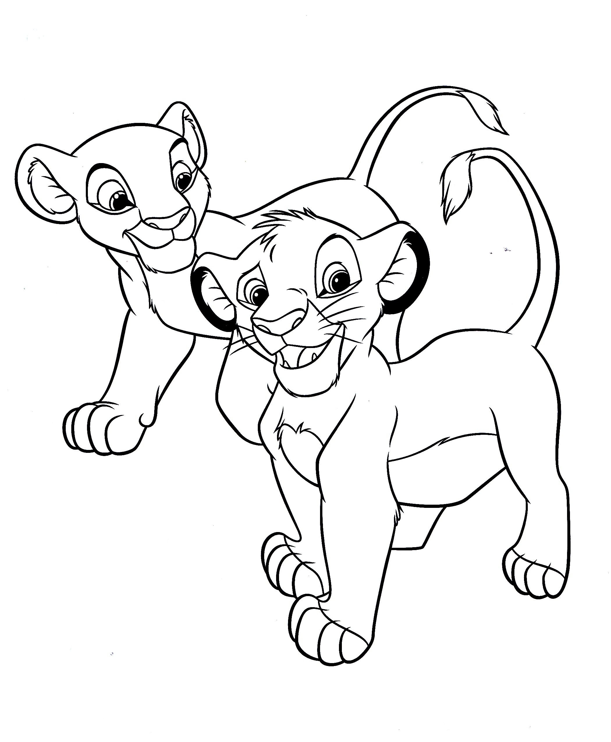 2100x2548 Original Realistic Lion Coloring Pages Became Luxury Article