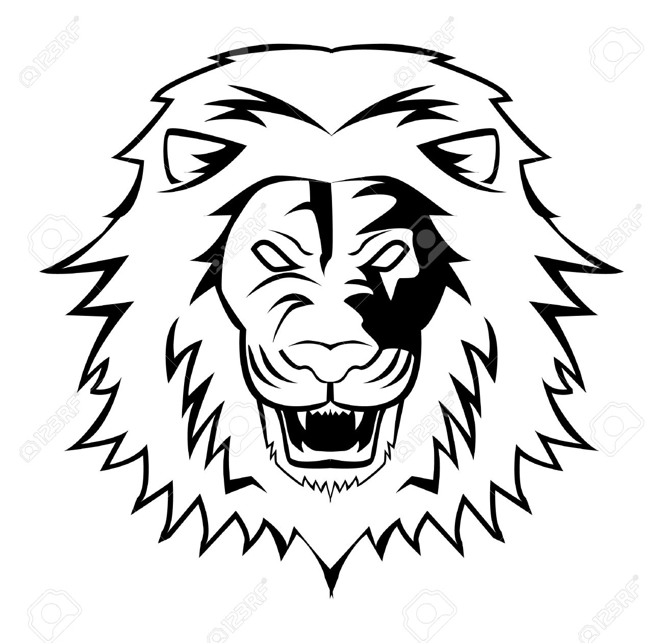 Lion Roar Drawing at GetDrawings com | Free for personal use