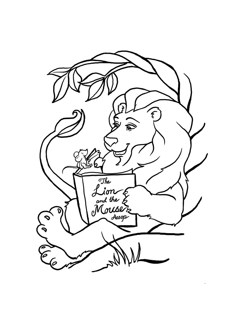 773x1000 Free Printable Lion Coloring Pages For Kids