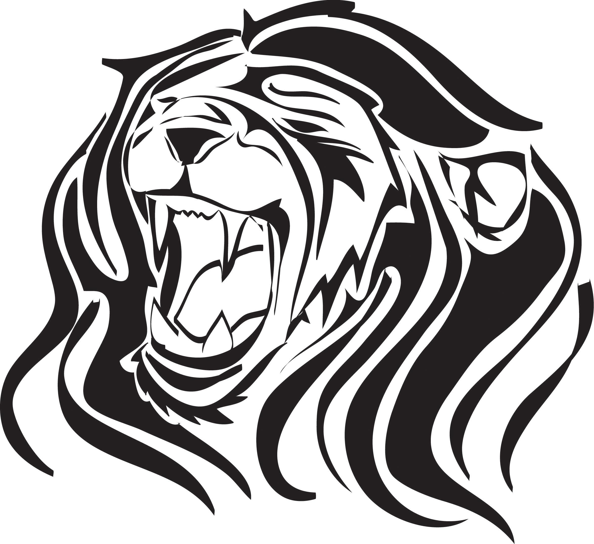 Lion Roaring Drawing At Getdrawings Com Free For Personal Use Lion