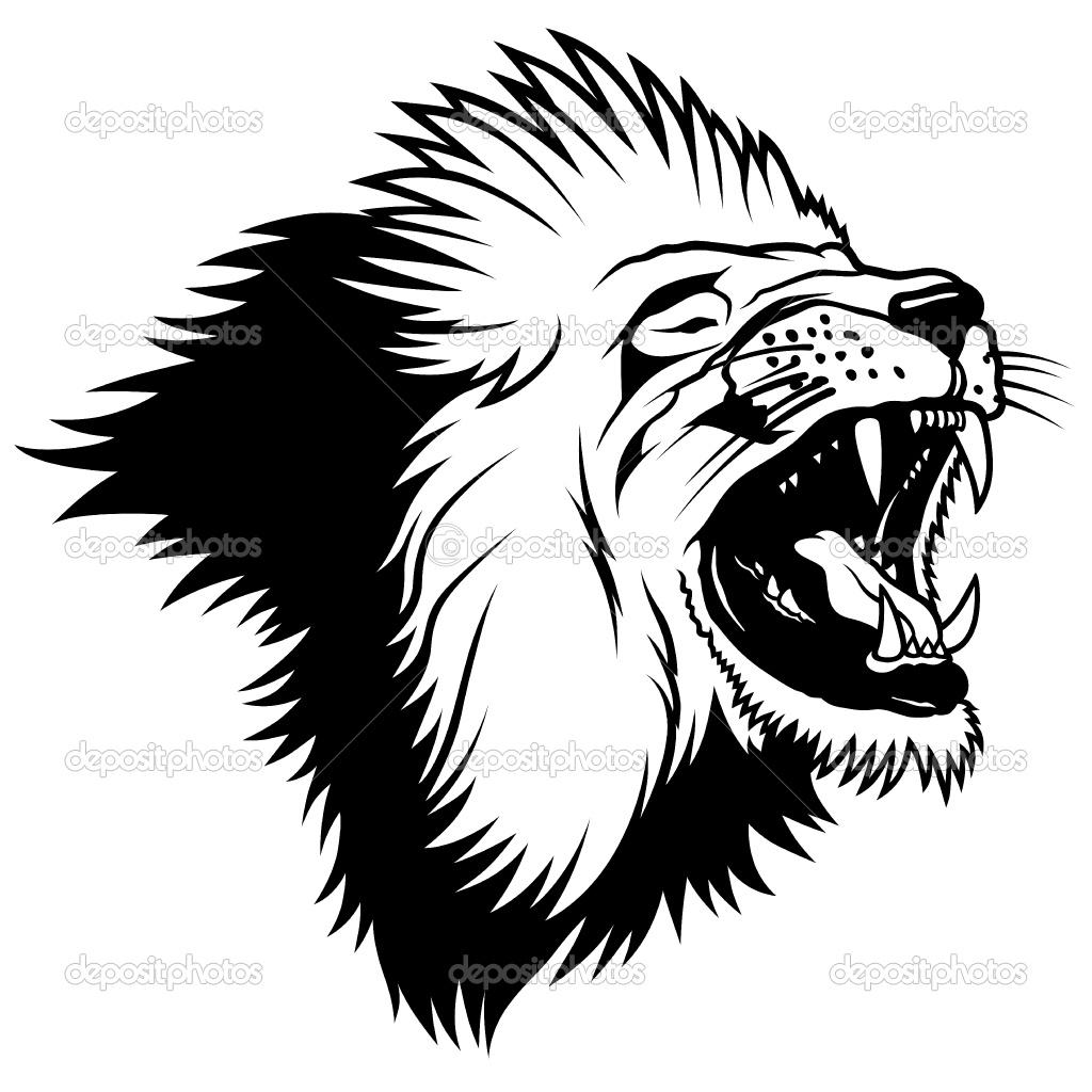 1024x1024 Beast Clipart Lion Roar