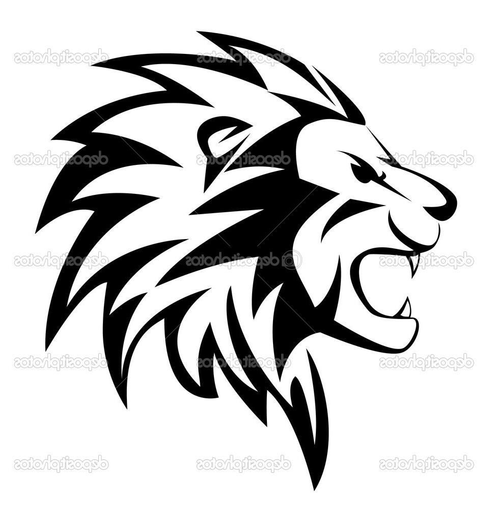 958x1024 Best Free Roaring Lion Vector Roar Design