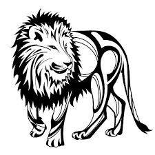 225x225 Drawn Lion Basic