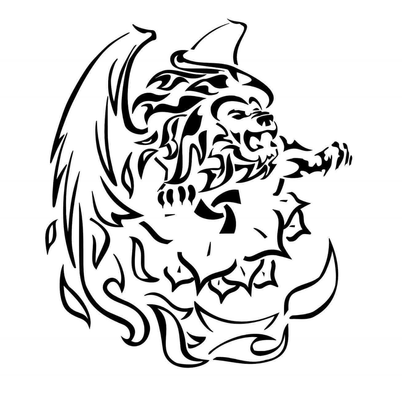 1307x1307 Simple Lion Tattoos Designs Mayamokacomm