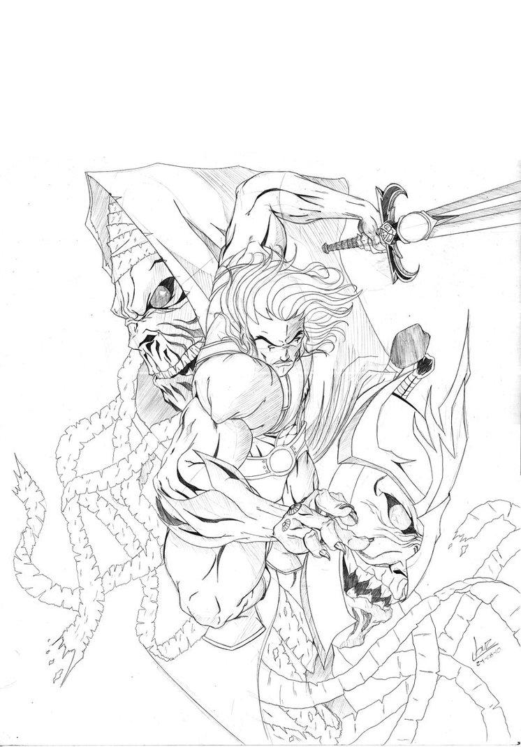 746x1070 Lion O Sketch By Okarusekai