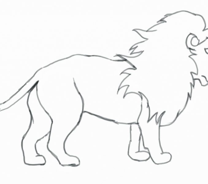 678x600 Sketches For Children Kids Coloring Page