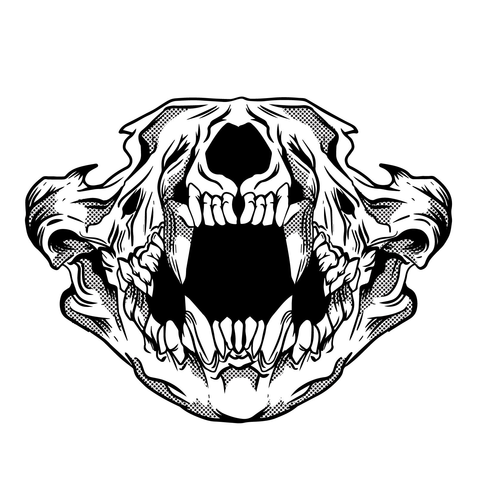 1600x1600 Skull Of Lion