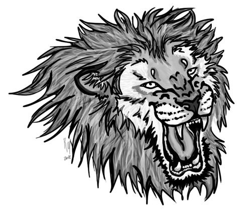 500x428 Lion Tattoo Designs Lion Tattoo Design, Tattoo Designs And Lions