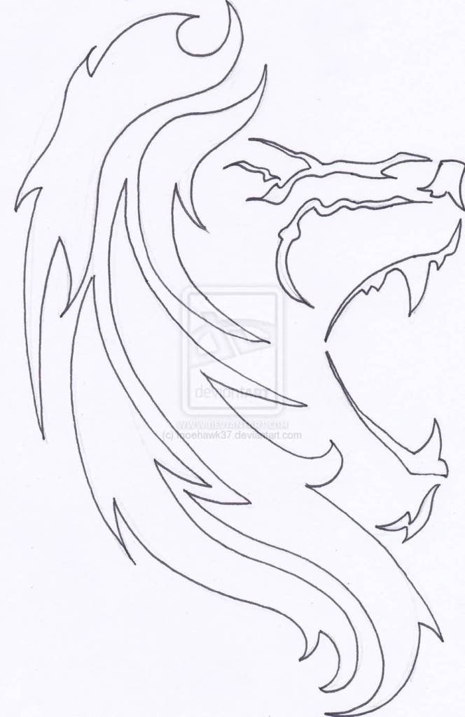 664x1024 Lovely Lion Tattoo Sketch On Paper