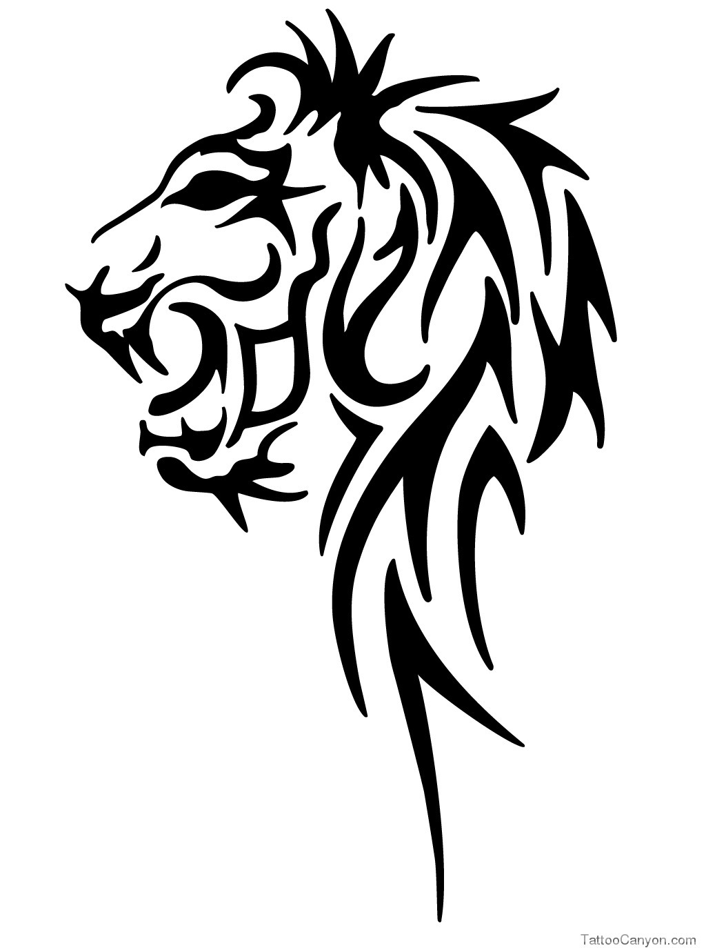 1024x1374 Tattoo Above Males Nipple And Tribal Leo Lion Head Horoscope Sign