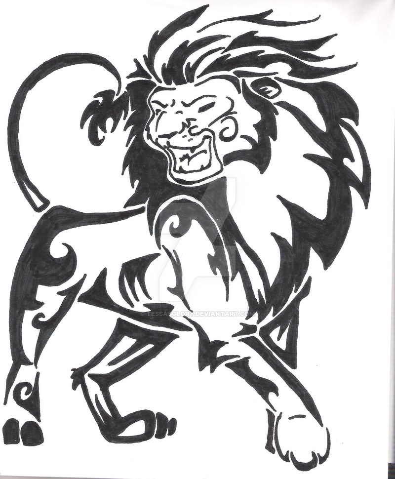 800x970 82 Famous Lion Tattoo Design Amp Sketches