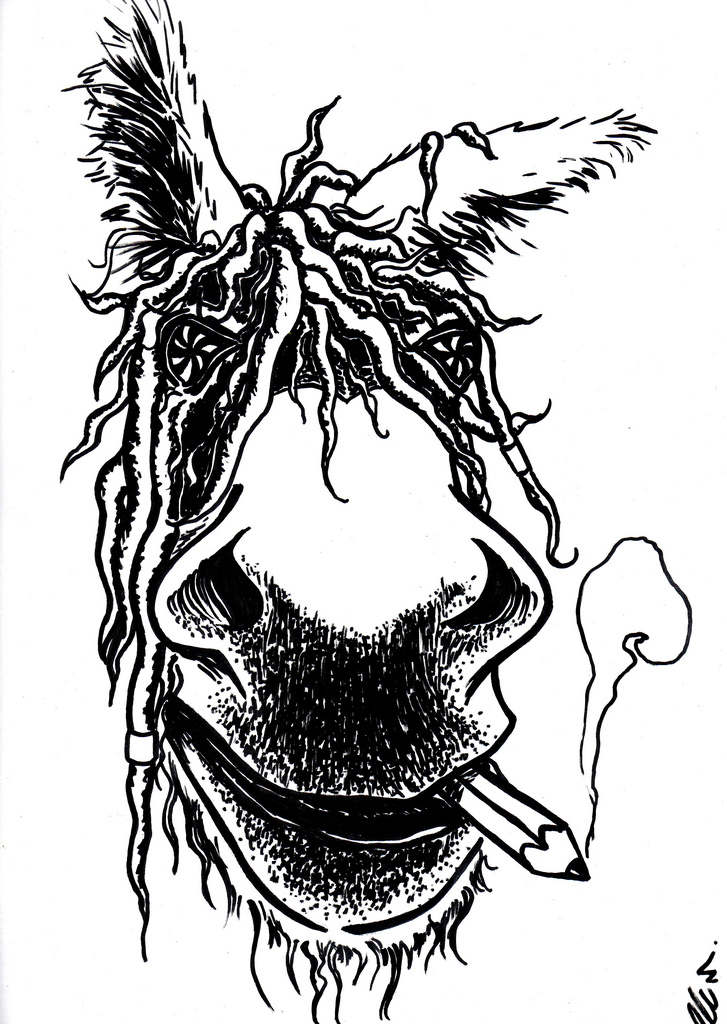 727x1024 The World's Best Photos Of Drawing And Dreads