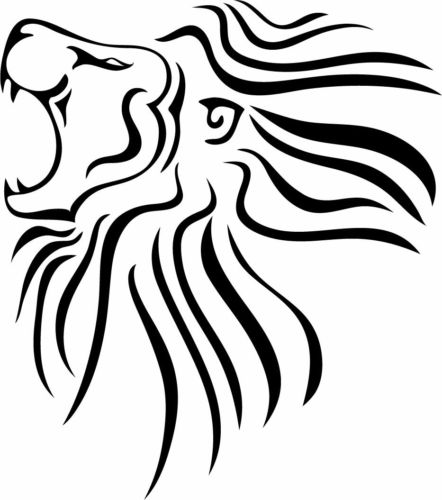 442x500 This Is A Rasta Reggae Roots Dreadlocks Lion Sticker Or Decal Ebay