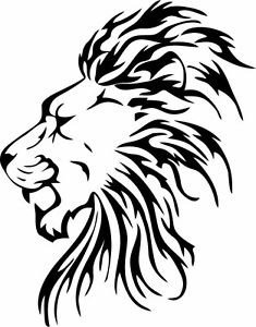 235x300 This Is A Rasta, Reggae, Lion Roots Sticker Or Decal. Great