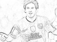 200x150 Soccer Coloring Pages Messi Beautiful Coloring Pages Lionel Messi