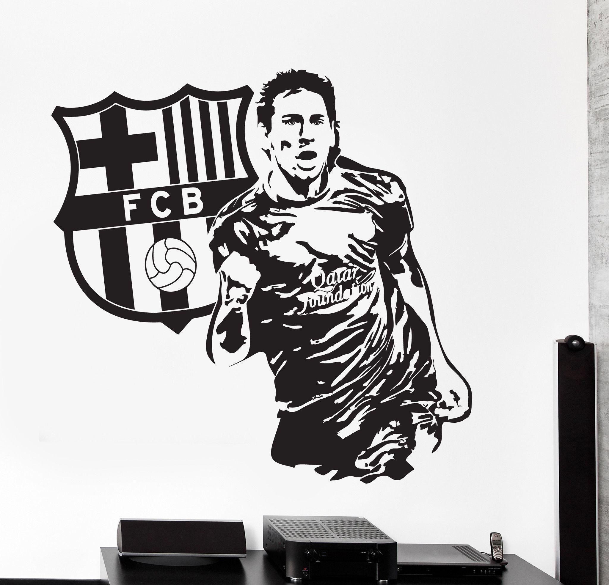 2048x1968 Wall Vinyl Decal Lionel Messi Sport Soccer Football Fc Barcelona