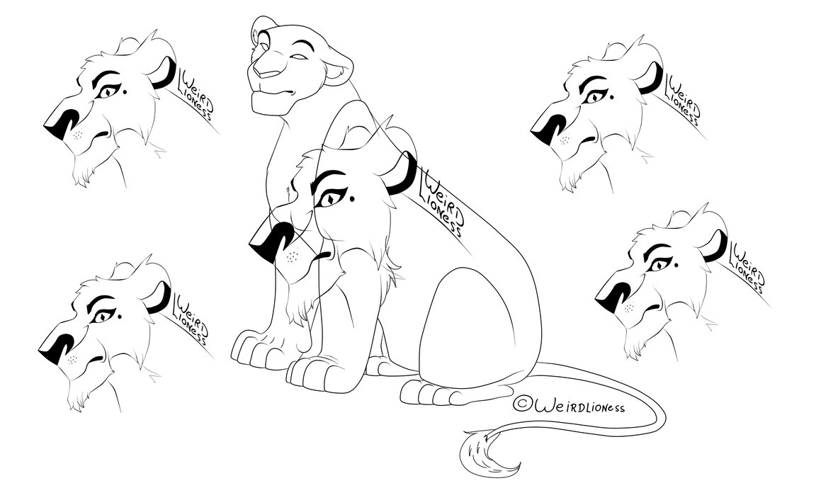 1159x689 Lioness Base Old By Weirdlioness