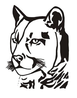 261x330 Lioness Head 2 Decal Sticker