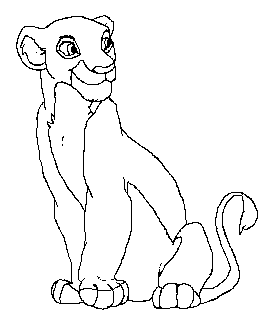 280x321 Lioness Lineart By Anniehyena