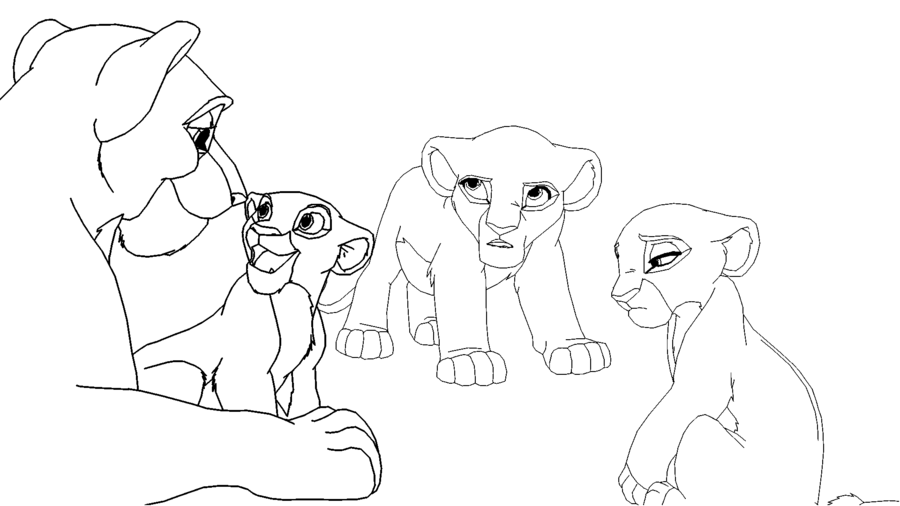 900x506 Lioness And Three Daughters By Scarzdaughter