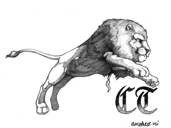 600x449 Lion Tattoo By Donchewliano