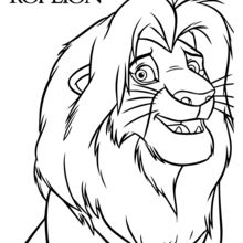 220x220 Lion Coloring Pages, Drawing Lessons, Crafts, Games And Activities