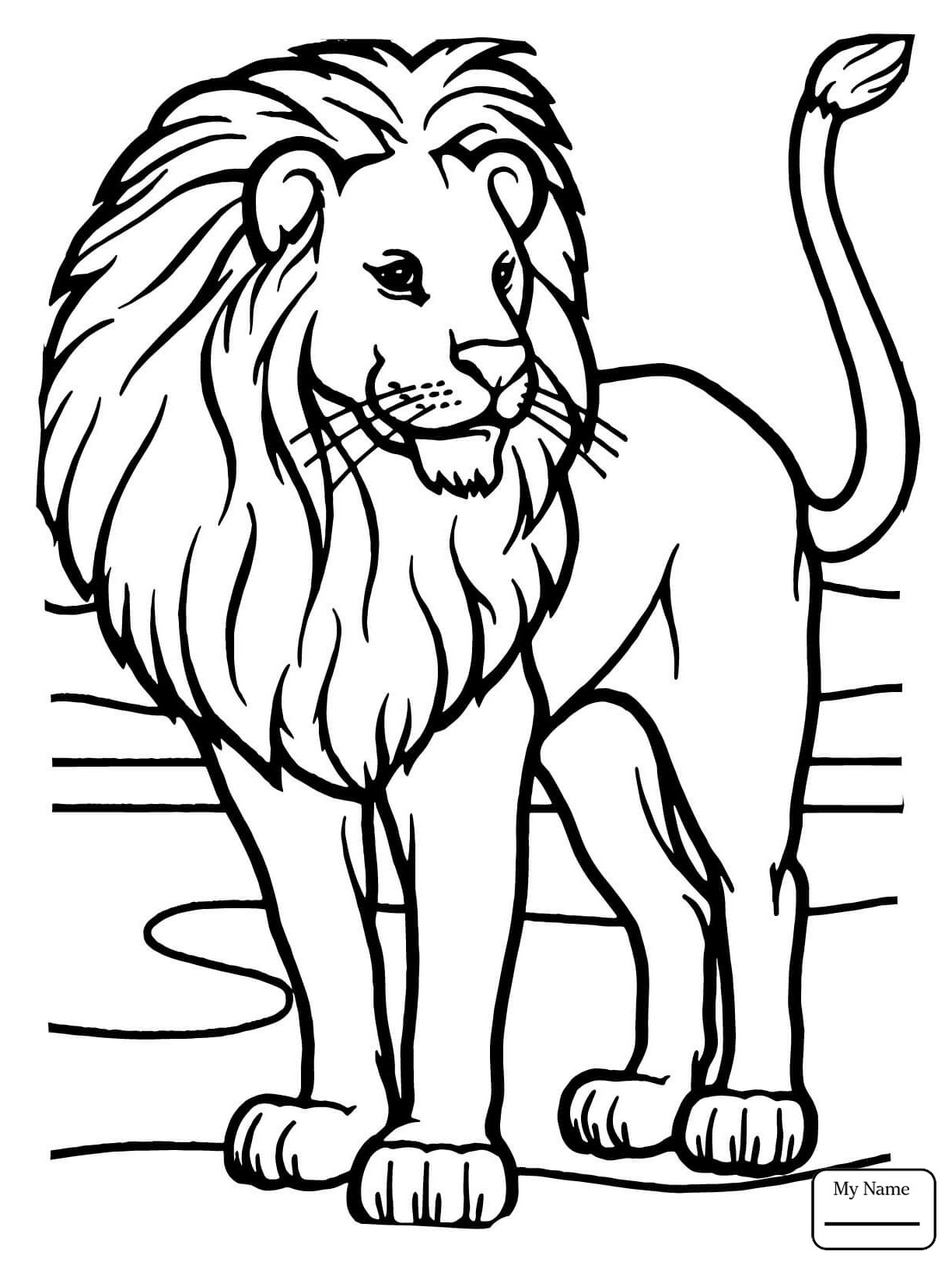 Lions Drawing For Kids at GetDrawings.com | Free for personal use ...
