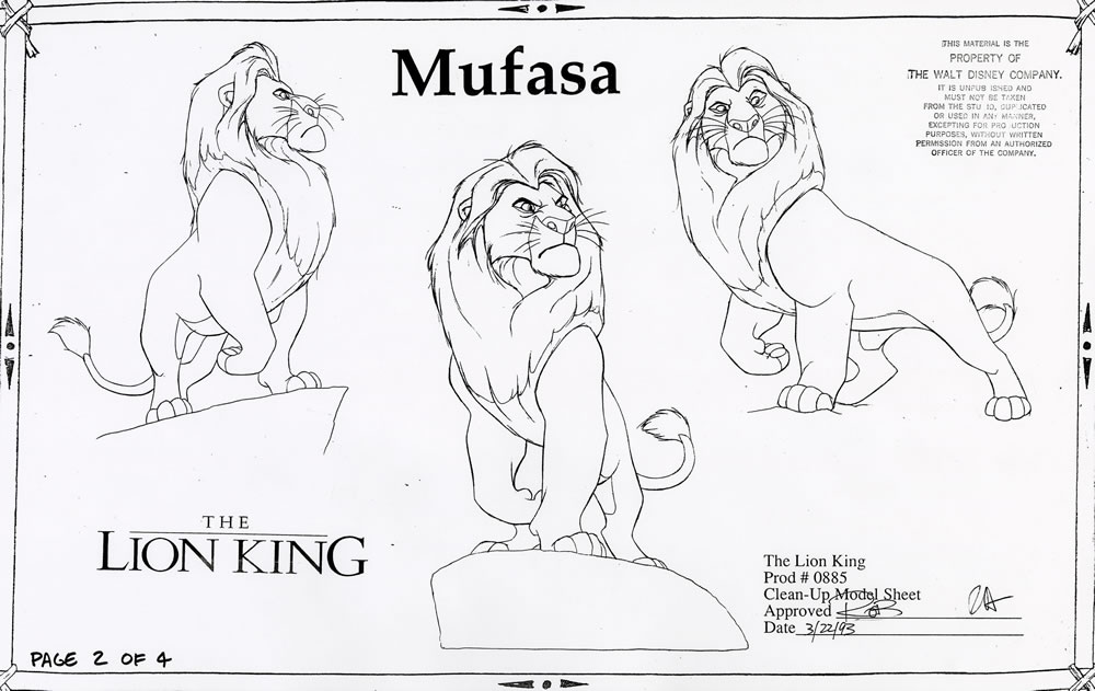 1000x631 Throwback Thursday Modeling The Lion King Walt Disney Animation