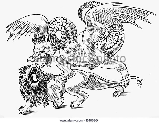 640x496 Fighting With A Lion Stock Photos Amp Fighting With A Lion Stock