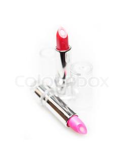 251x320 Lip Gloss Applicator Close Up On Black Background Stock Photo