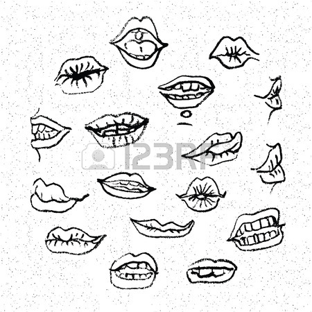 450x450 118 Lip Piercing Stock Vector Illustration And Royalty Free Lip