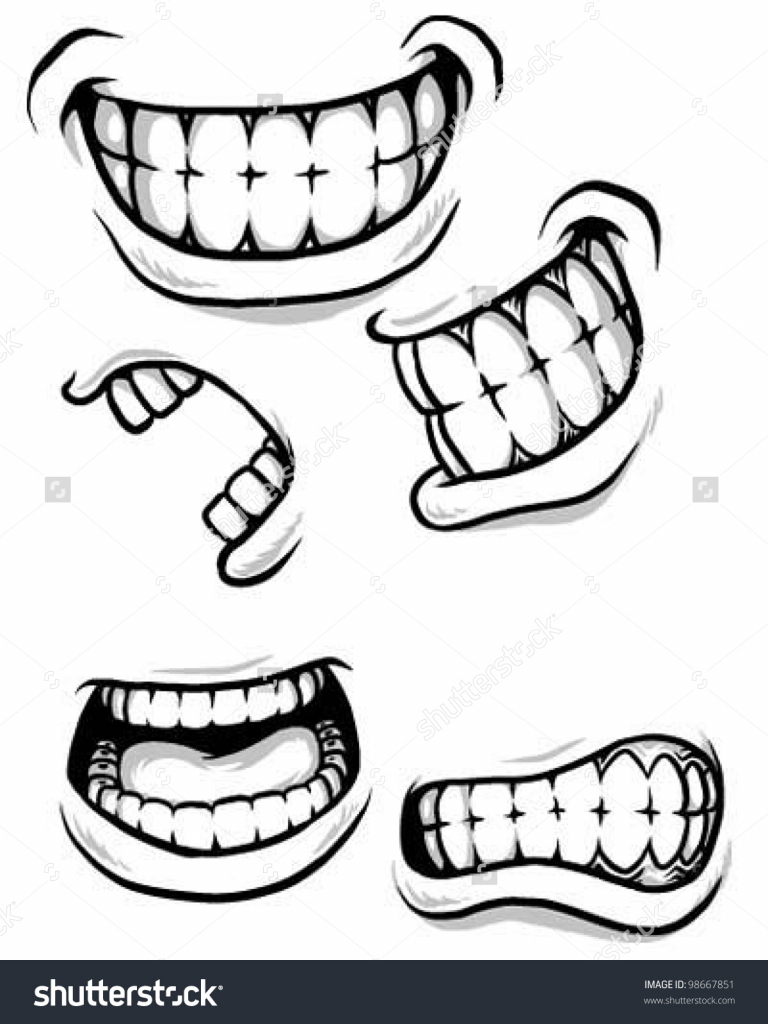 768x1024 Cartoon Mouth Drawing 17 Best Images About Drawing Lips On