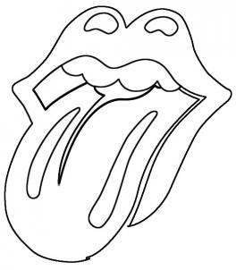 264x302 how to draw the rolling stones lips and tongue step 4 Art